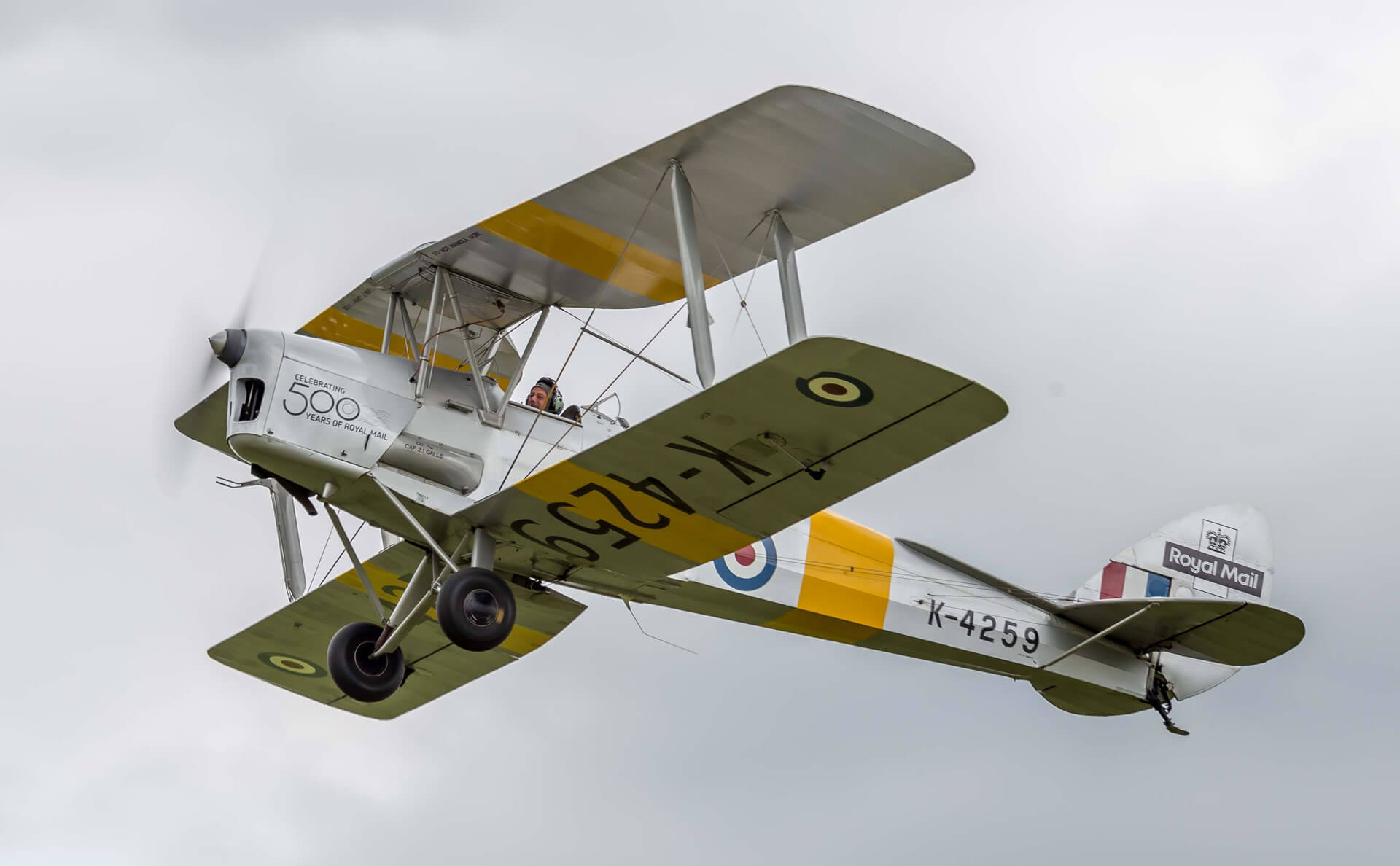 45-Minute Tiger Moth Trial Lesson