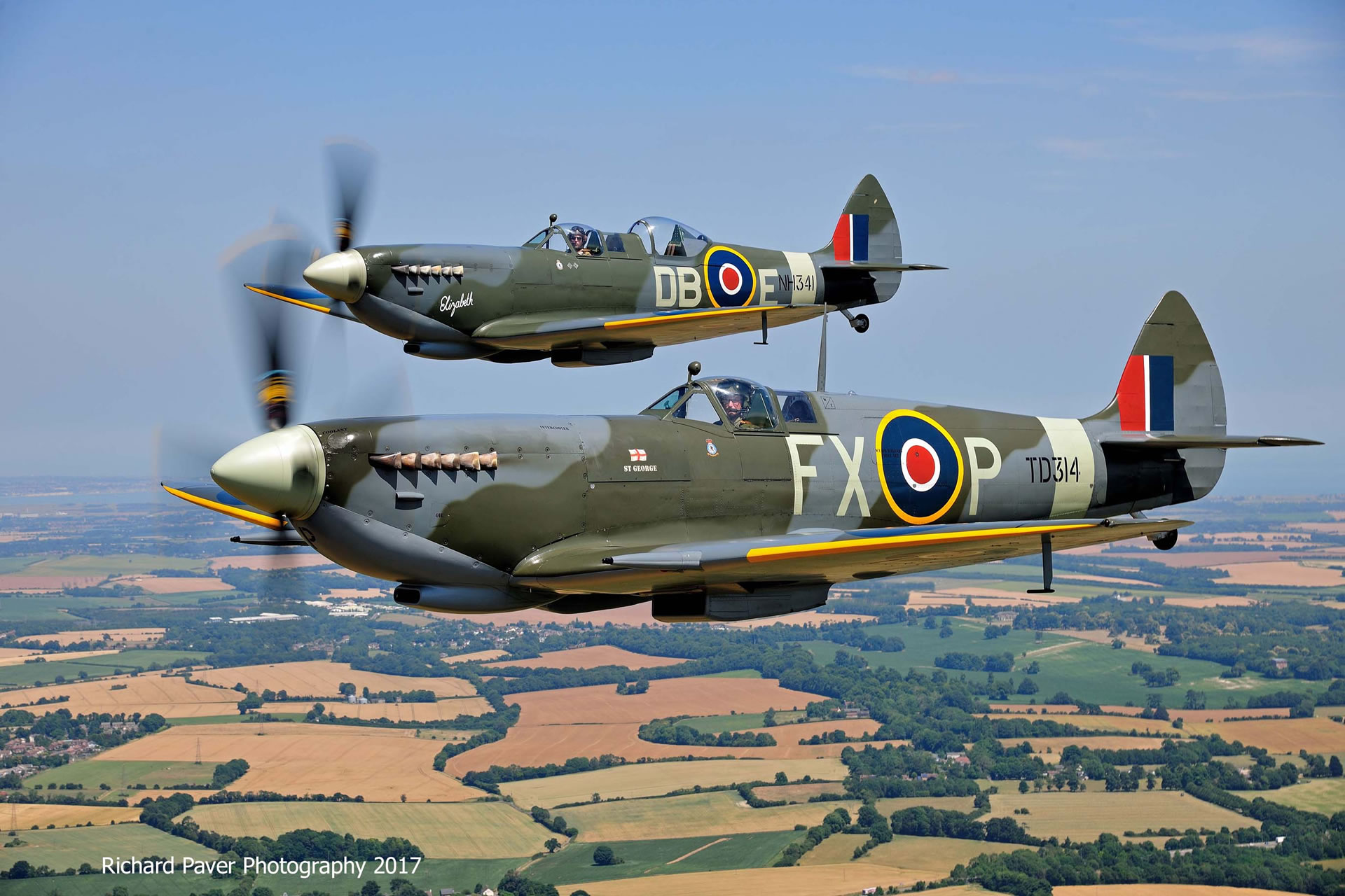 Formation Spitfire Flights