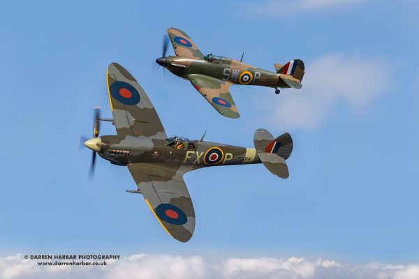 Fly with a Spitfire experience