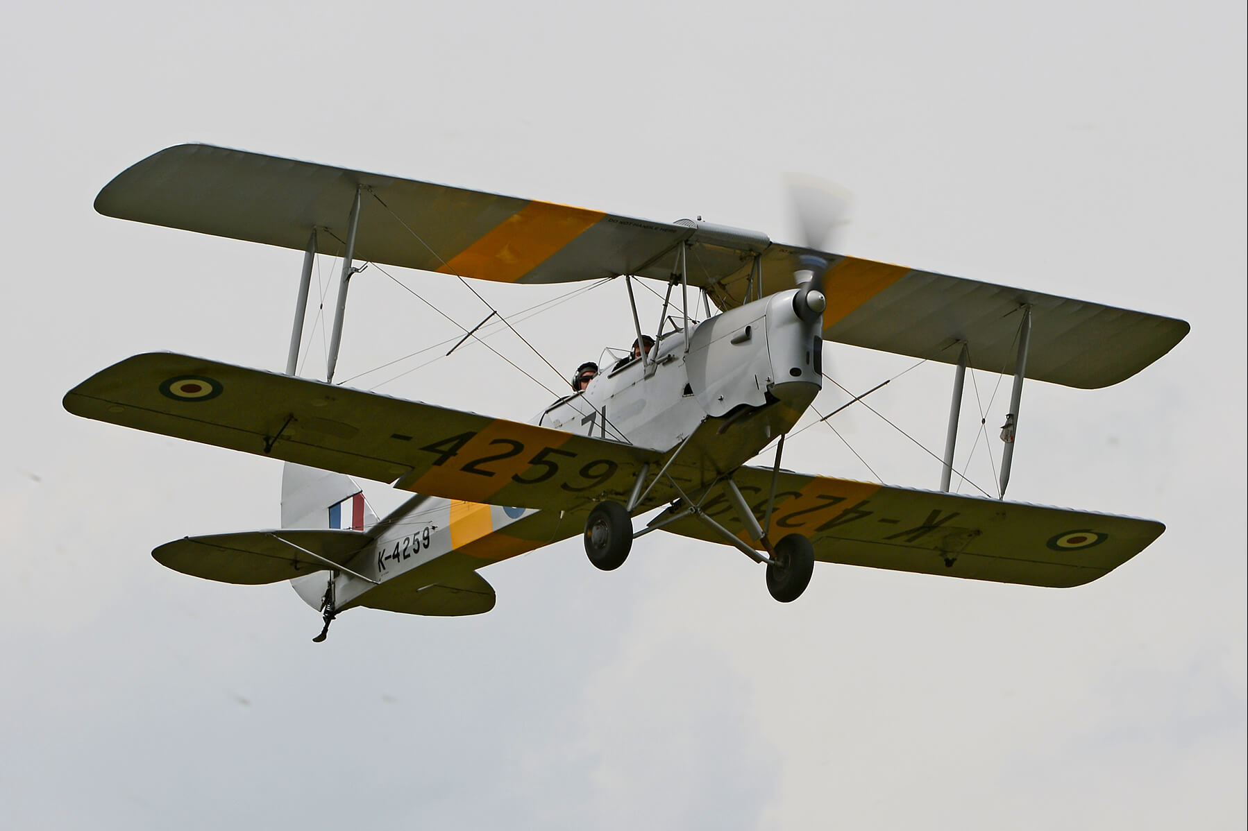 15-Minute Tiger Moth Trial Lesson