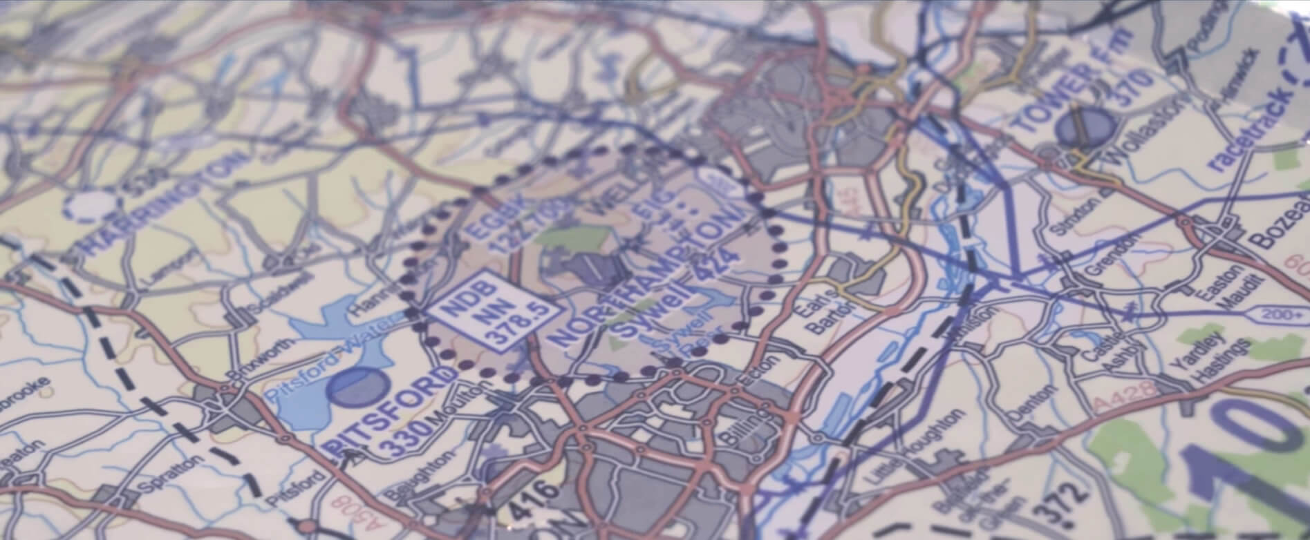 Sywell Map