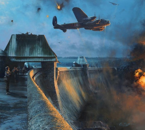 The Dambusters – Last Moments of the Möhne Dam