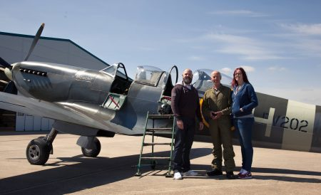 Book a 20 minute Spitfire Flight
